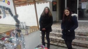 Приготвяне на ястия и организиране на Коледен благотворителен базар